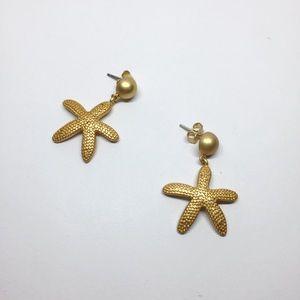 NWOT Madewell Star Drop Earrings